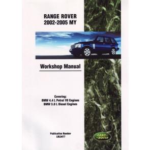 DA3148 Work Shop Manual Range Rover L322 200 - 2005