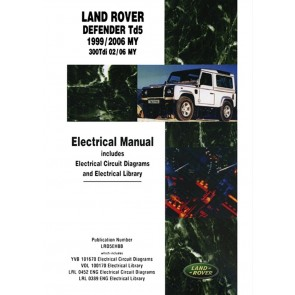 DA3157E Electrical Manual Defender - Td5 - 1999 - 2006