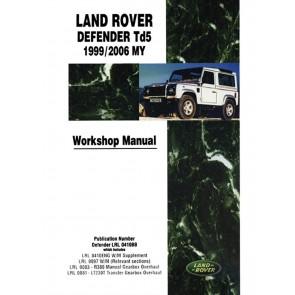 DA3157W Workshop Manual Defender - Td5 - 1999 - 2006