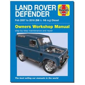 Haynes Land Rover Defender Tdci 06 - 16 Workshop Manual