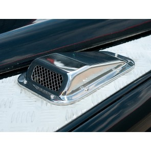 Defender Air Intake With Grille Stainless - Left