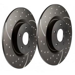 EBC Performance Brake Discs suits Defender 110 Rear 2007 onwards