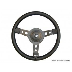 "Britpart 14"" 3-Spoke Sports Steering Wheel"