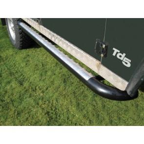 Defender 110 Side Protector Tube Set - Black