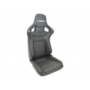 Corbeau Sportline RRS Low Base Defender Seats - Dakota Leather