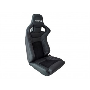 Corbeau Sportline RRS Low Base Defender Seats - Leather / Alcantara