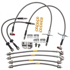 Britpart Stainless Brake Line Set - Discovery 3 & 4 / RR Sport