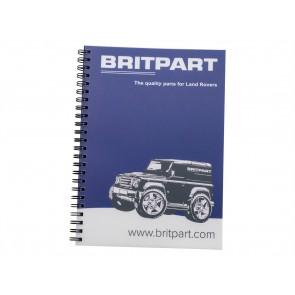 Britpart Softback Notepad