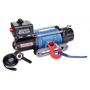 Britpart 9000C 12V Winch - Synthetic
