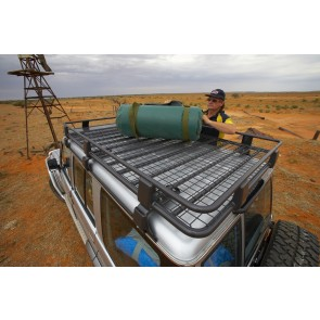 ARB Deluxe Alloy Roof Rack With Mesh 2200X1120mm
