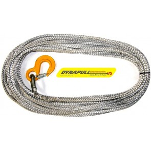 Dynapull 12mm x 125ft (38m) Winch Rope For 8274 / GP/ Hornet - Graphite