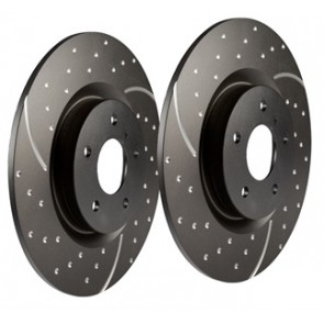 EBC Performance Brake Discs suits Discovery 3, Discovery 4 and Range Rover Sport - 2005 - 2009