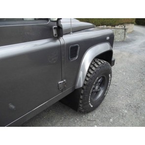 Defender Front Mudflap Extended Mounting Brackets