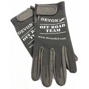 Devon 4x4 Gloves Black - Medium