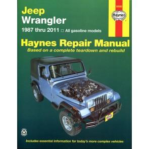 Haynes Jeep Wrangler (87 - 11) (USA)