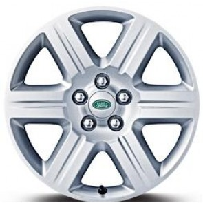 "LR006681 Alloy Wheel Silver Sparkle 7.5 x 17"" Style 1 Freelander 2"