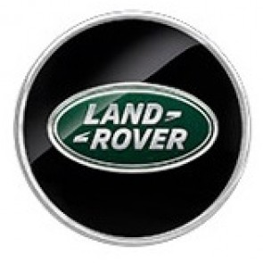 LR051543 Black & Silver Centre Cap
