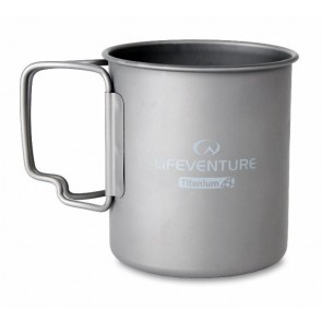 Lifeventure Titanium Mug - 450ml