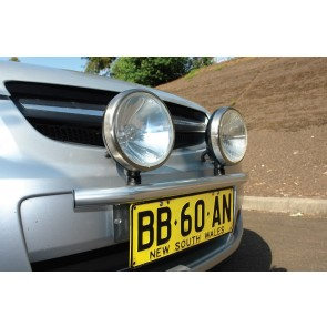 Bushranger Night Hawk X-Bar Universal Light Mount - Silver