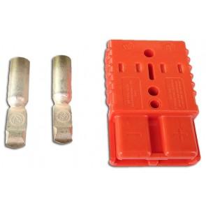 Anderson Plug 175a - Orange
