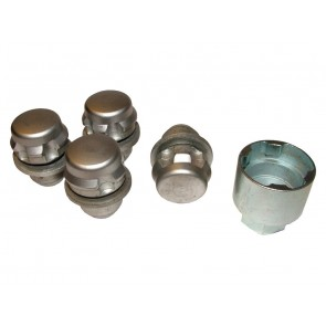 RRB500100 Locking Wheel Nut Set Alloy x 4 Discovery 3 / RR Sport 05-09 / RR L322 05-09