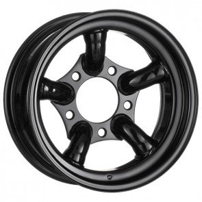 Challenger Steel Wheel 7x16 Gloss Black
