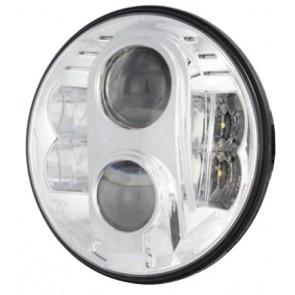 "7"" Guardian LED Headlight RHD - Chrome"