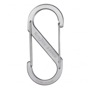 Nite Ize Size-5 S-Biner Dual Spring Gate Carabiner Stainless