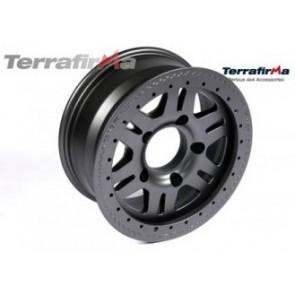 Terrafirma Alloy Beadlock Wheel 5x165 PCD Matt Black