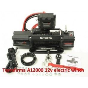 Terrafirma A12000 Winch With Synthetic Rope