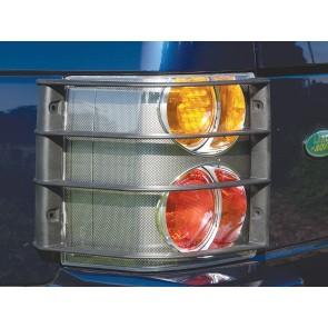 VUB001080 Rear Lamp Guard Set Range Rover L322 To 9A