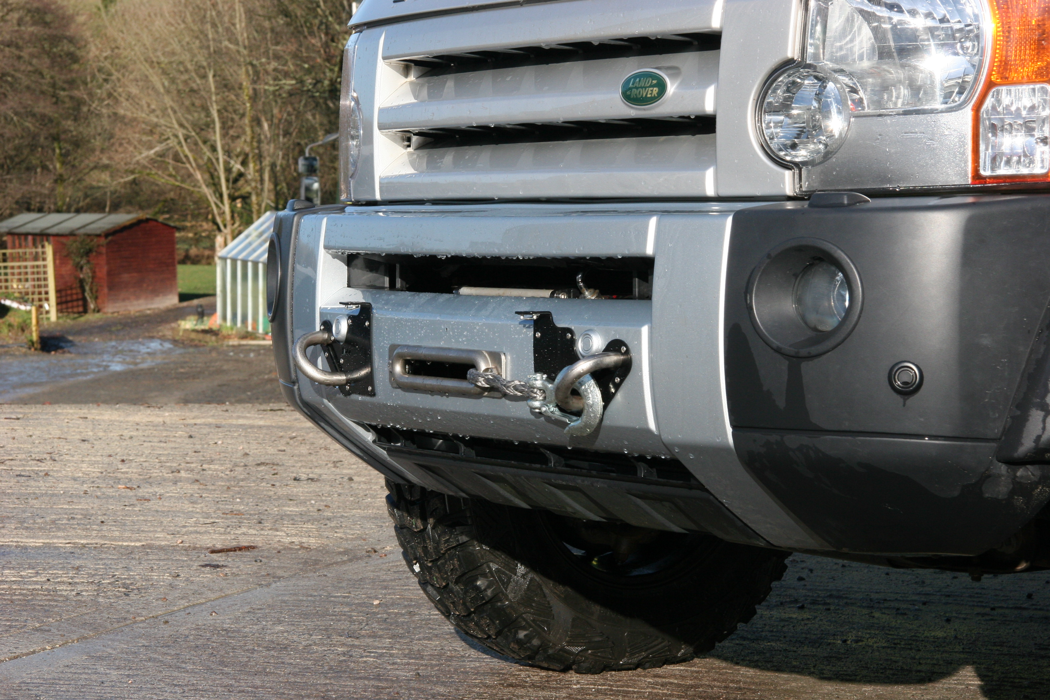 D44 Discovery 3 Discreet Winch Mount Kit