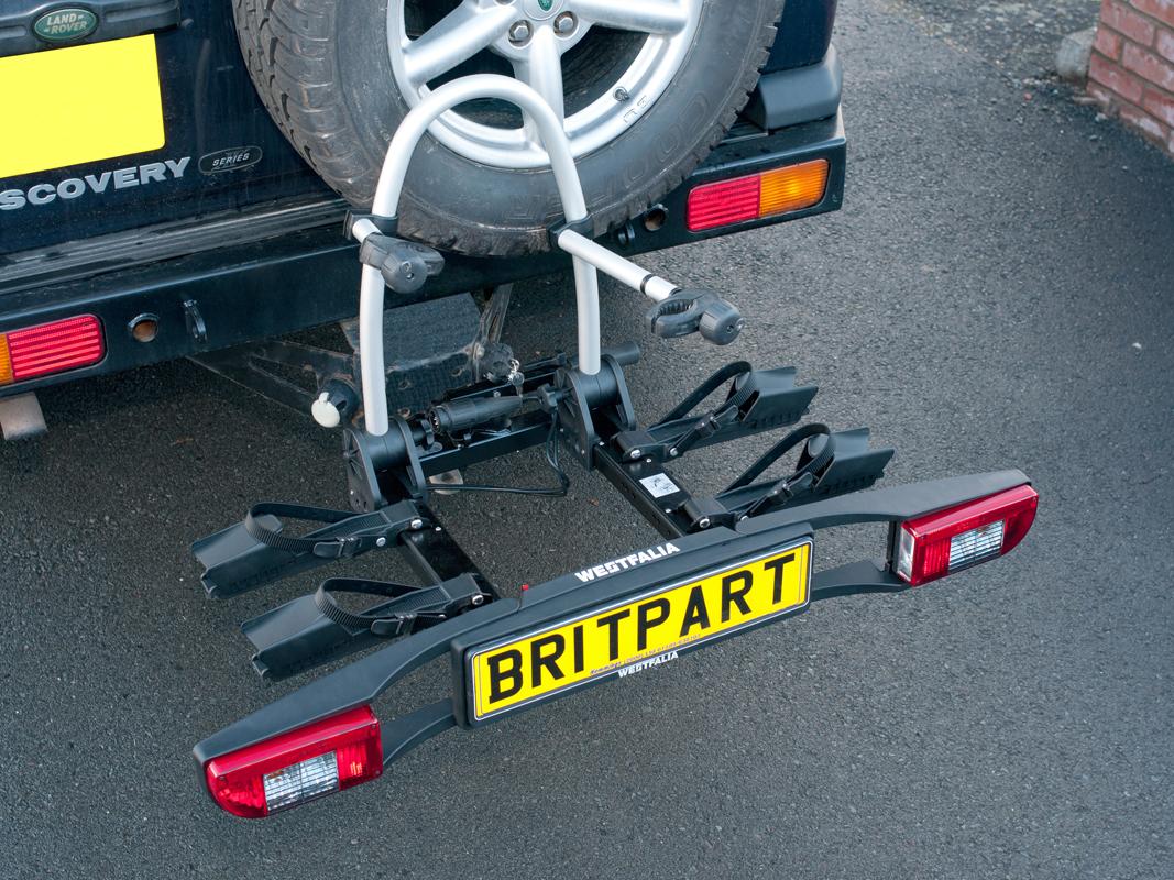Westfalia Universal Tow Bar Fit Bike Rack Devon 4x4