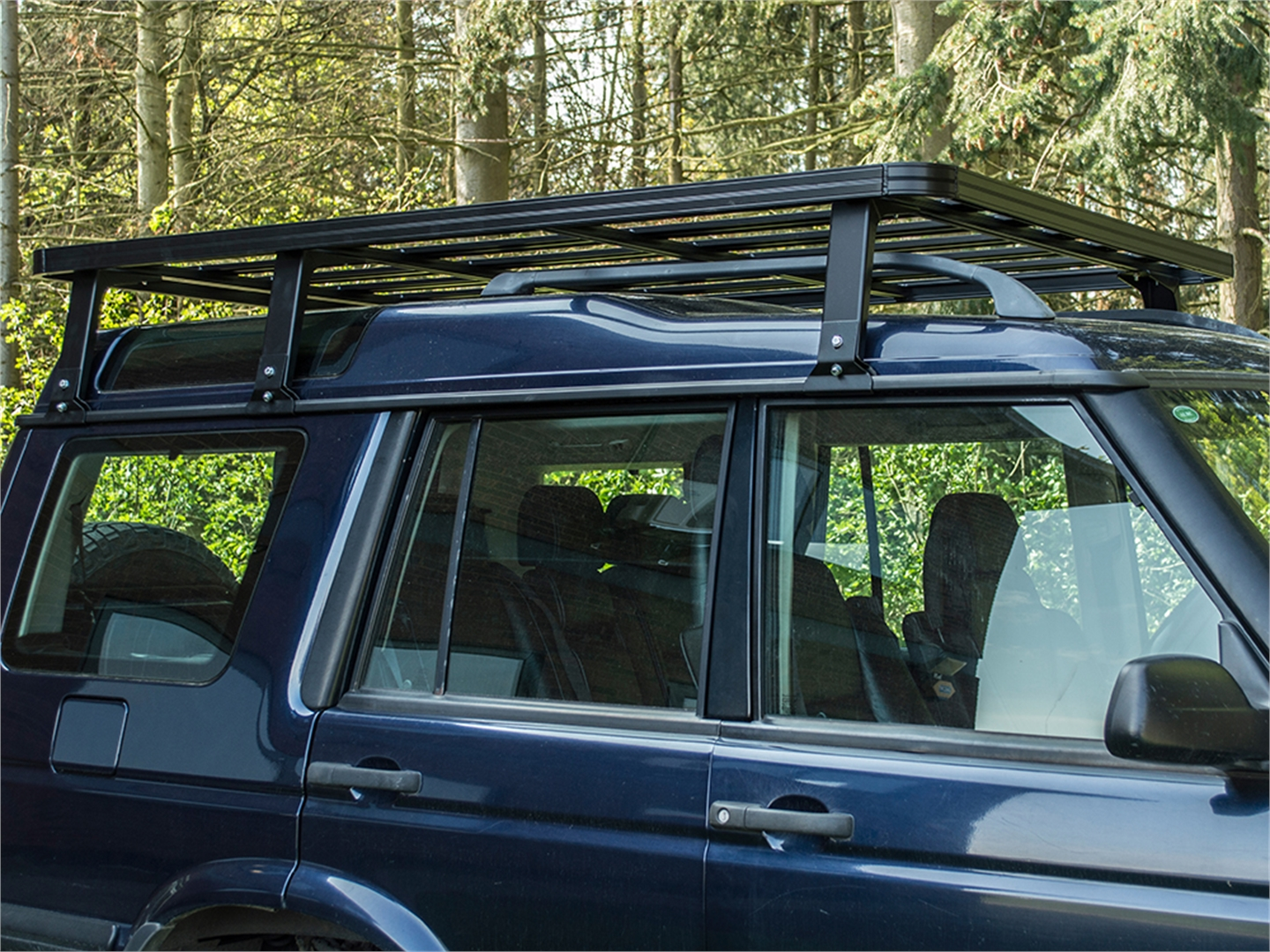 Britpart Expedition Discovery 1    Discovery 2 Roof Rack  High  - Devon 4x4