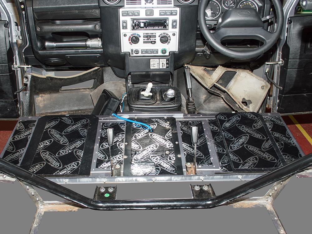 Dynamat Sound Deadening Seat Box Defender 2007 Onwards