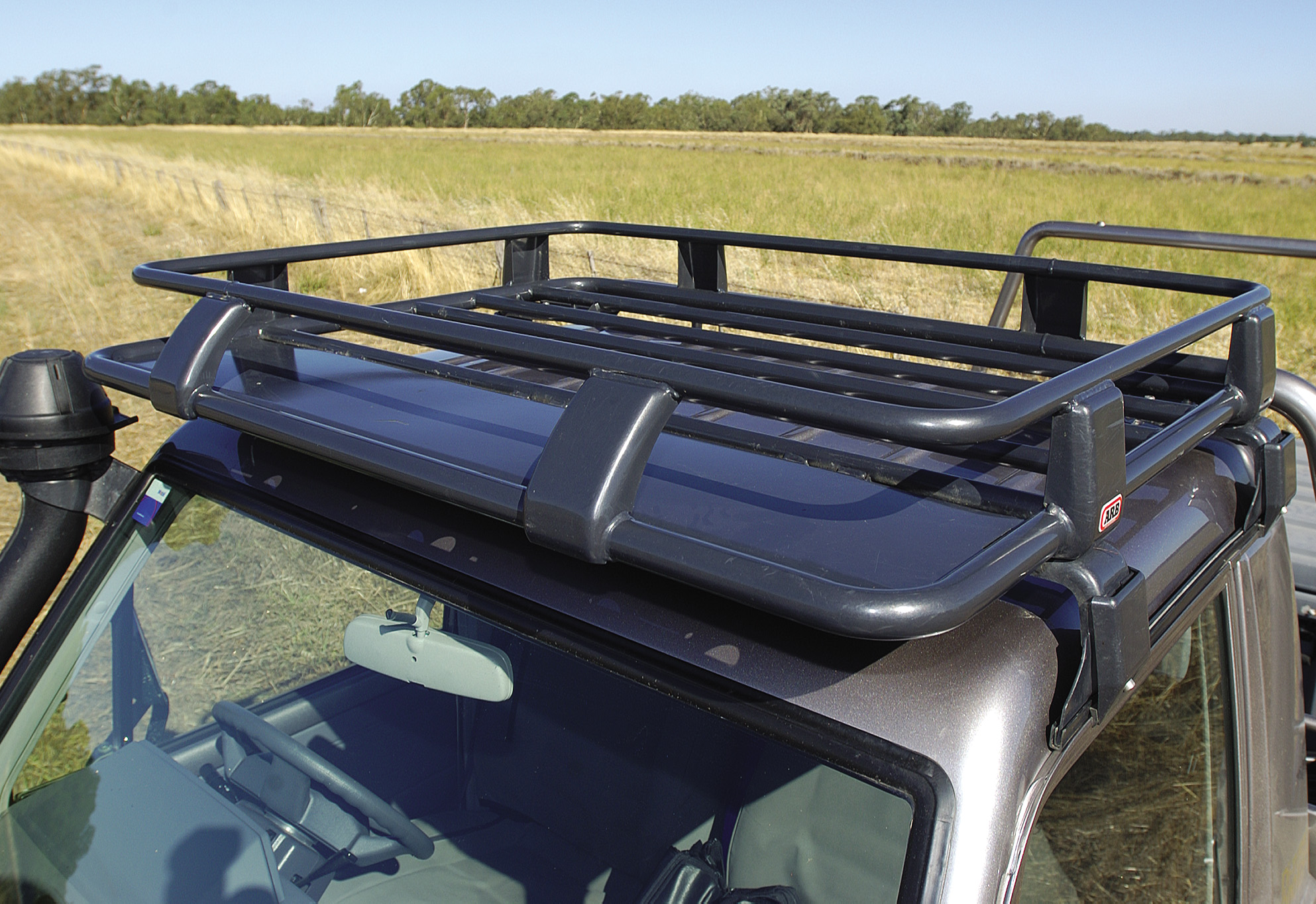 Arb Deluxe Steel Roof Rack 1100x1120mm Devon 4x4