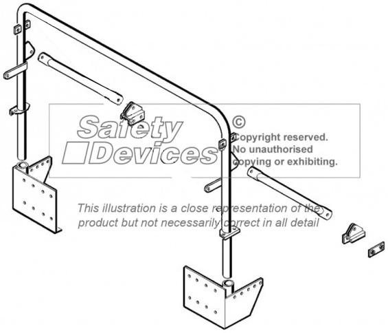 safety devices defender 110 soft top bar