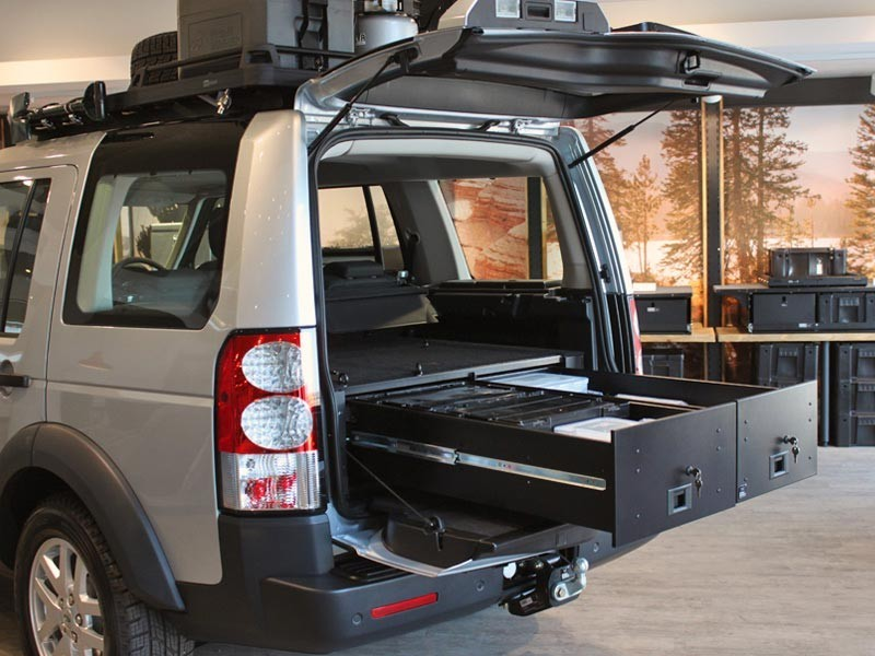 Front Runner Land Rover Discovery 3 And 4 Drawer Kit Devon 4x4 Ssld004 Fnt