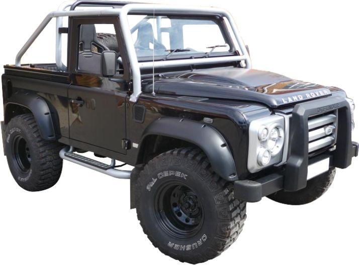 Defender Wheel Arches Extra Wide 110mm Kit Terrafirma