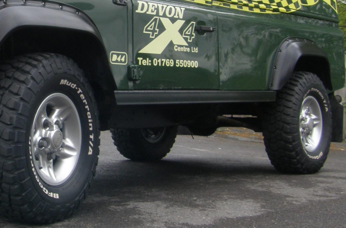 defender 110 rock slider set terrafirma devon 4x4 ford explorer heated seat wiring diagram universal heated seat wiring #6