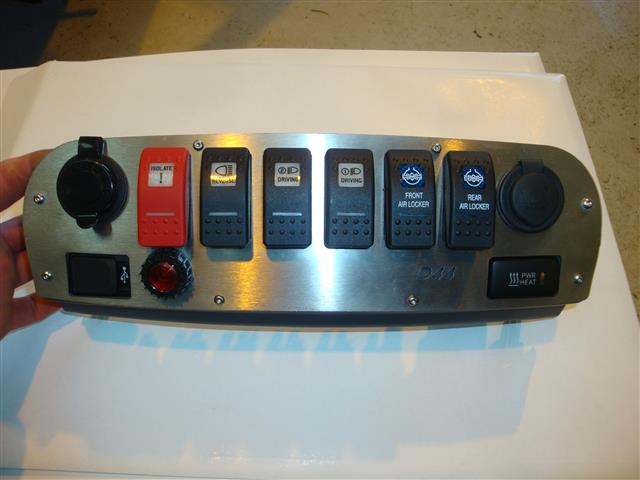 Devon4x4 Front Switch Panel