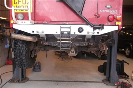 4X4 Off Road >> Devon4x4 :: Galvanised Rear Crossmember